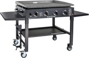 four bruners cast iron gas grill and griddle combo cheap