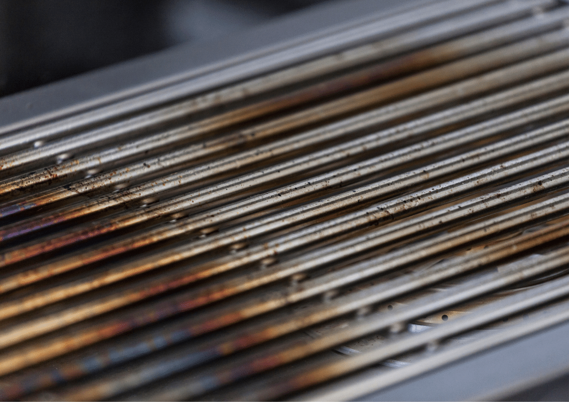 how to cleann stainless steel grill grates